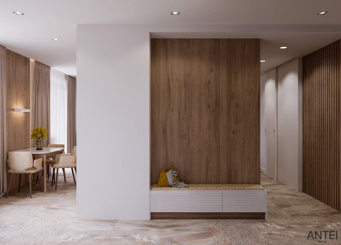 Дизайн интерьера трехкомнатная квартира в Гомеле, ул. Парижской Коммуны - гостиная фото №7