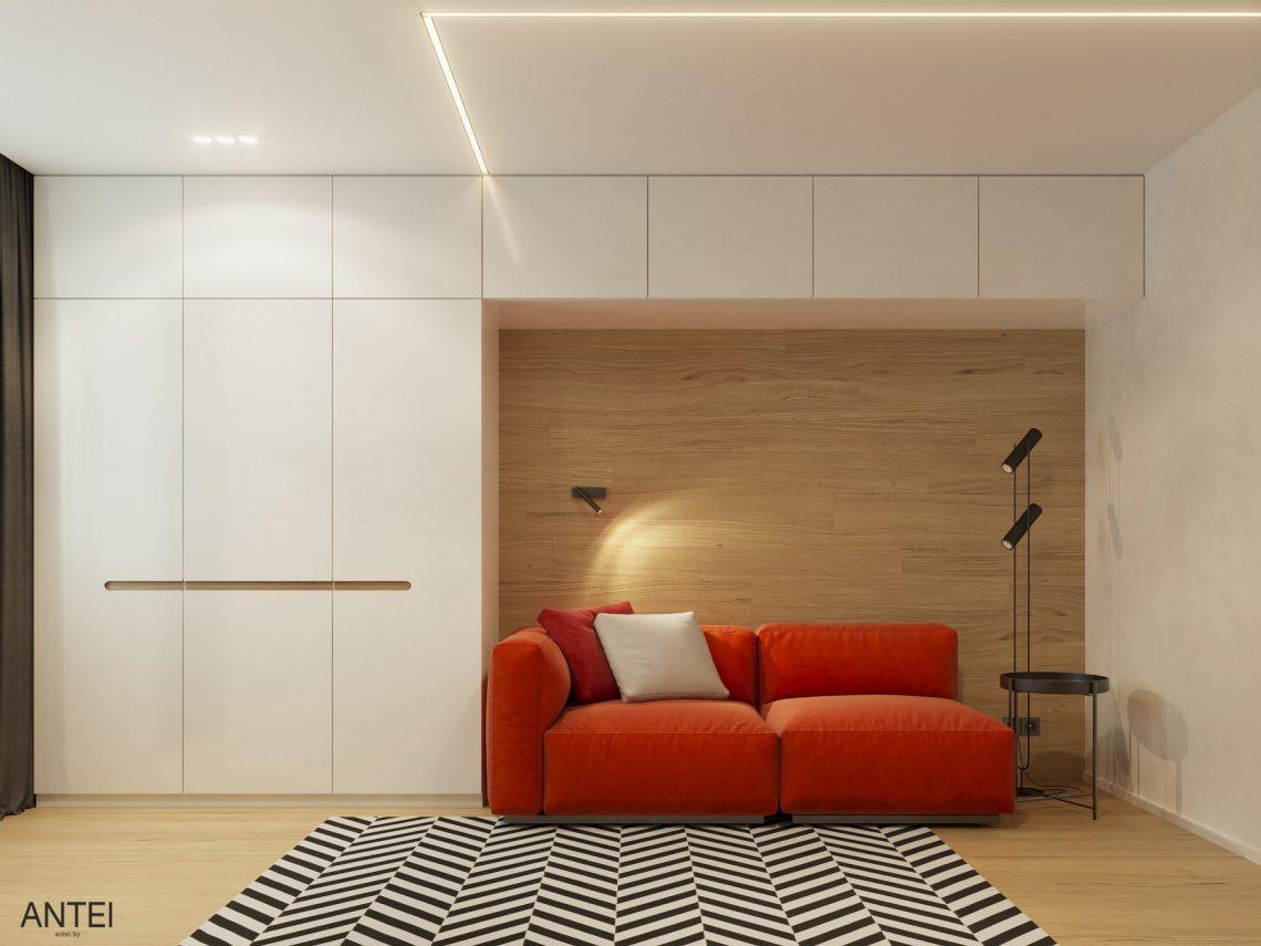 Дизайн интерьера трехкомнатная квартира в Минске, пр. Дзержинского - кабинет фото №1