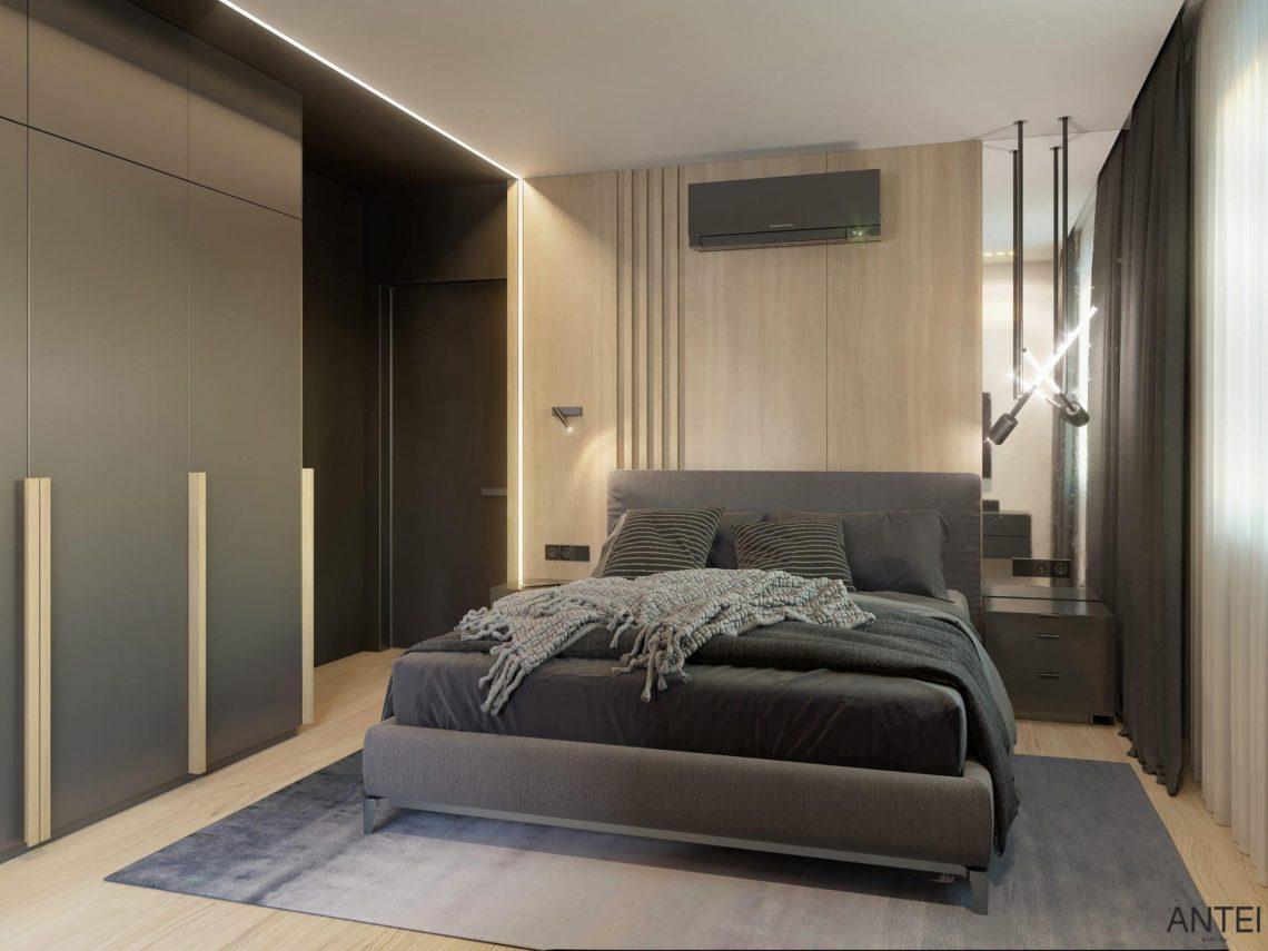Дизайн интерьера трехкомнатная квартира в Минске, пр. Дзержинского - спальня фото №3