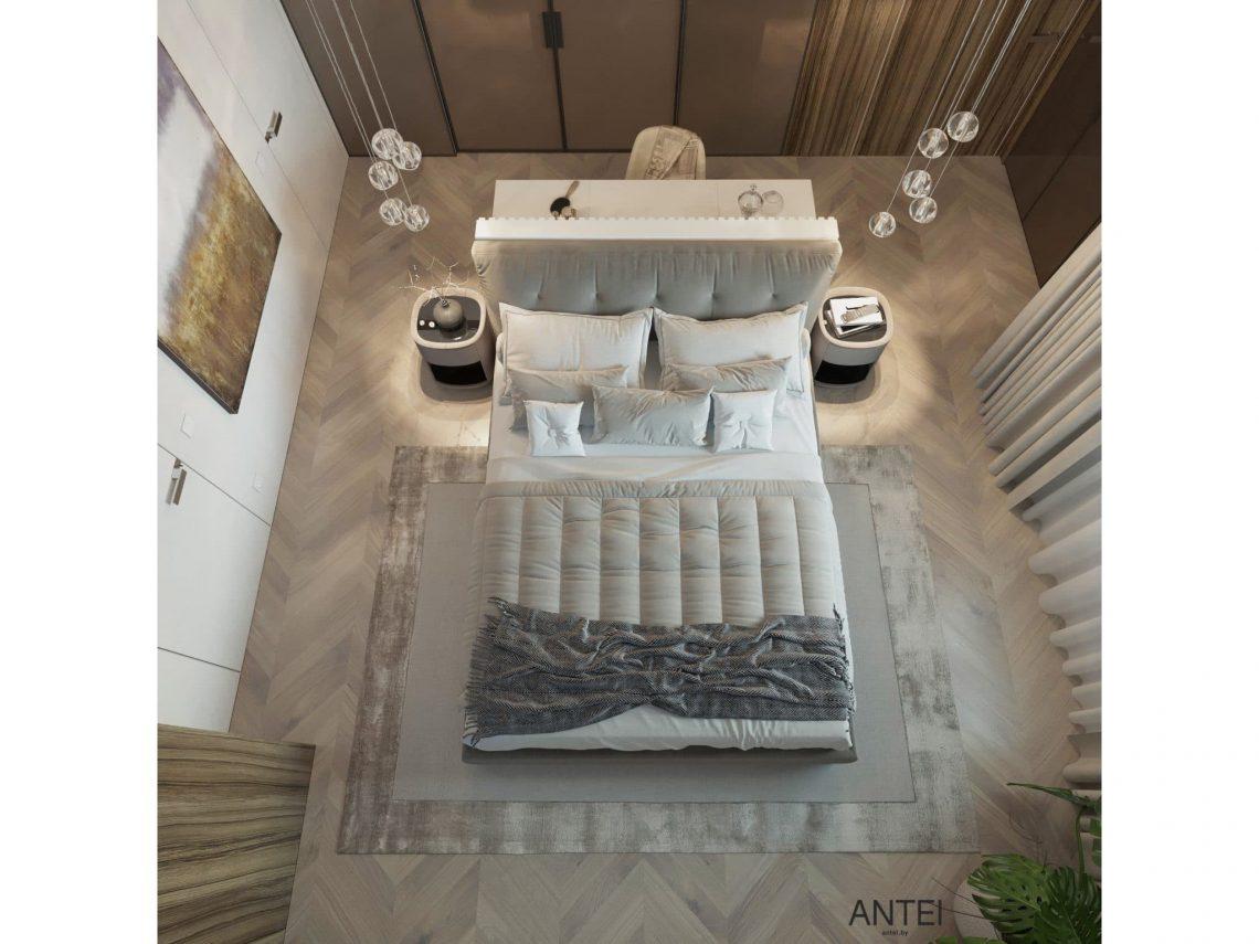 Дизайн интерьера трехкомнатной квартиры в Гомеле, ул. Советская - спальня фото №6
