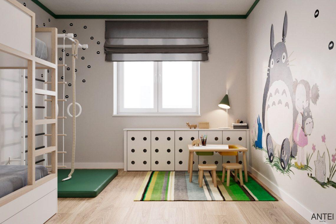 Дизайн интерьера трехкомнатной квартиры в Гомеле, ул. Волотовская - детская комната фото №3