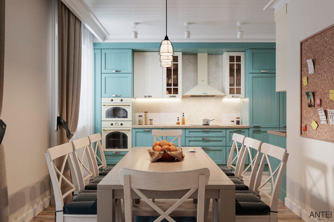 Дизайн интерьера трехкомнатной квартиры в Гомеле, ул. Волотовская - кухня фото №1