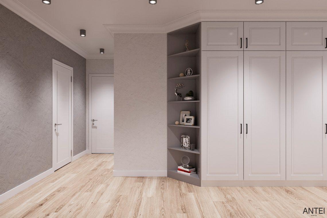 Дизайн интерьера трехкомнатной квартиры в Гомеле, ул. Волотовская - прихожая фото №4