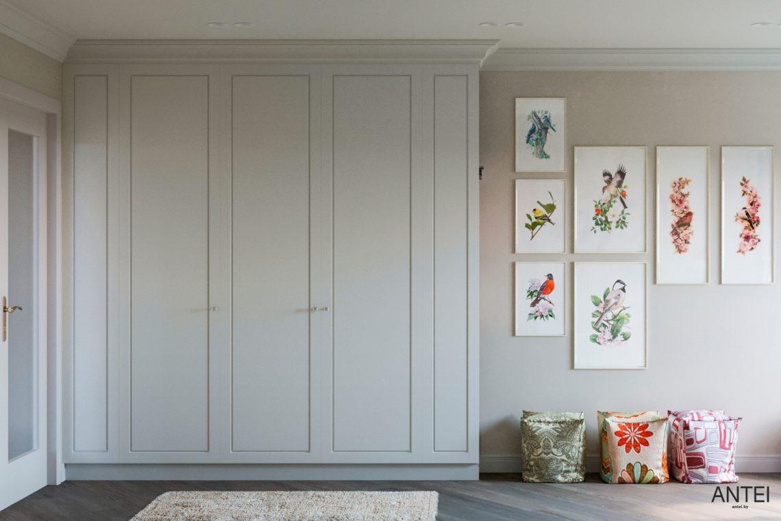 Дизайн интерьера трехкомнатной квартиры в Гомеле, ул. Бородина - детская комната фото №4