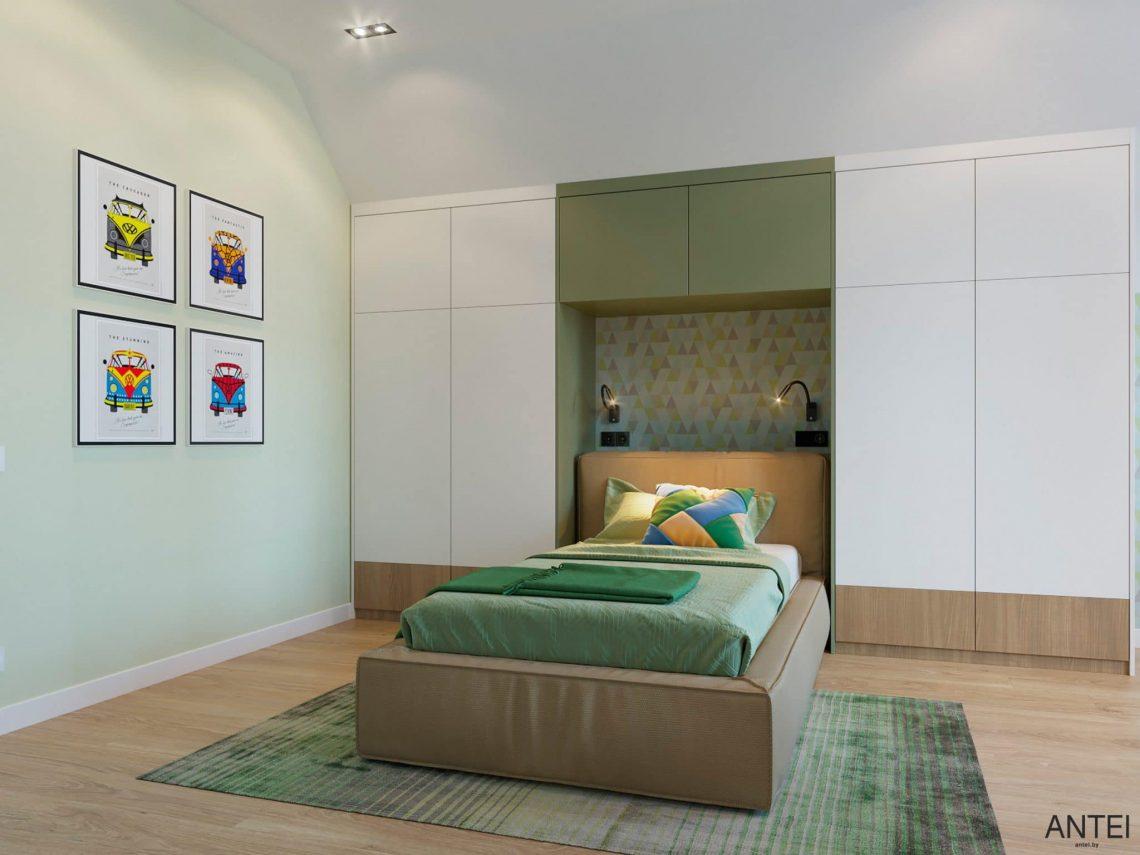 Дизайн интерьера двухэтажного дома в Гомеле, по ул. Брянская - детская комната фото №5