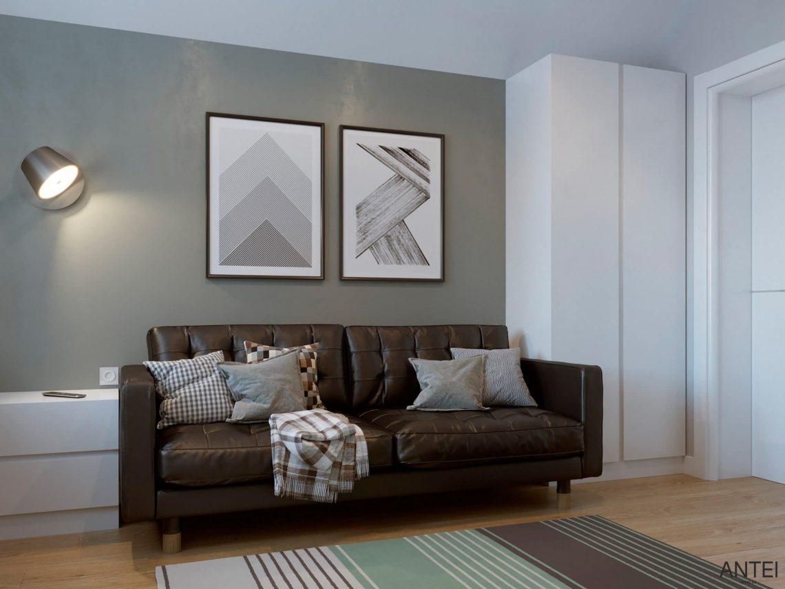 Дизайн интерьера двухэтажного дома в Гомеле, по ул. Брянская - кабинет фото №2