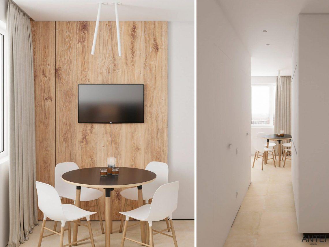 Дизайн интерьера двухэтажного дома в Гомеле, по ул. Брянская - кухня фото №2